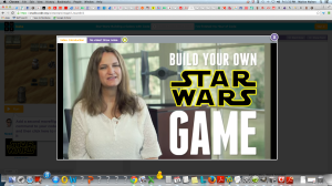 Code.org - Create a Star Wars game